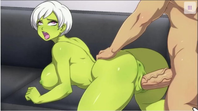 WaifuHub - Cheelai - Cute Alien Girl Takes Huge Dick ( With Voice-Over) Porn  Video