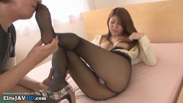 Fetish and pantyhose fetish video foot