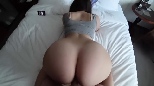 Cum on her big ass