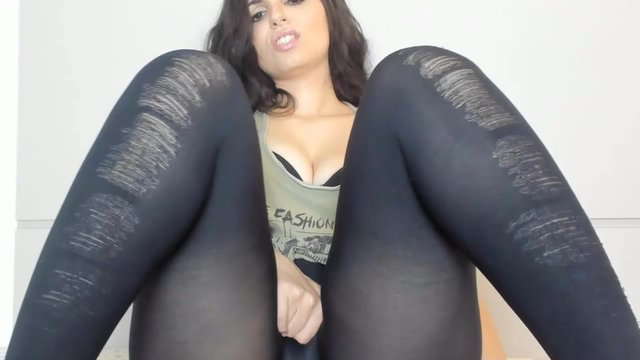 Spandex hot girls leggings in