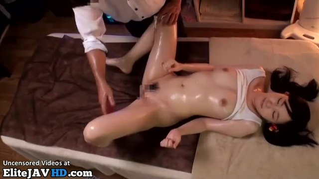 Hot Japanese Girl Massage
