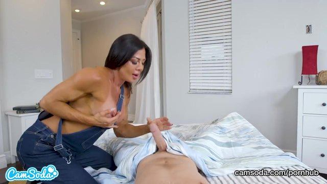 Stop huge cum can t mom cock tits