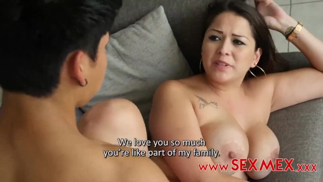 Mom Son Threesome Friend